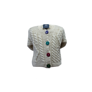 Children's Aran Cable Knit Cardigan | The Scottish Company