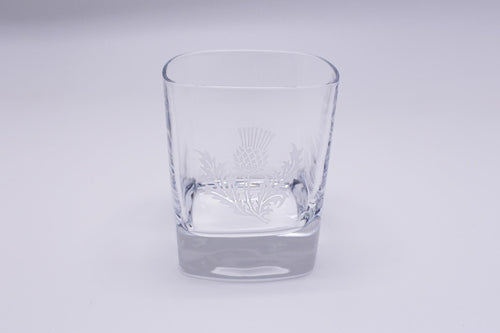 Burns Crystal | Thistle Square Whisky Glass