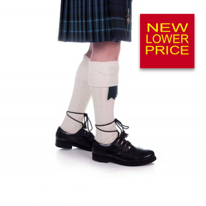 Kilt Hose | Off White