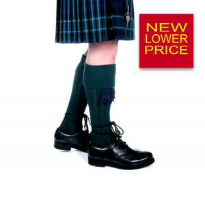 Kilt Hose Bottle Green | The Scottish Company