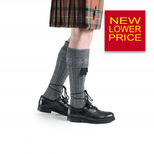 Kilt Hose Light Grey | The Scottish Company