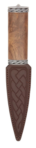 Daywear Sgian Dubh | Rosewood hilt with pewter banding