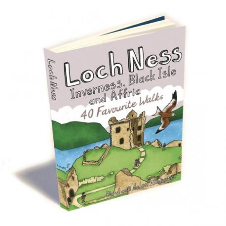 Walking Trails Guidebook | Loch Ness, Inverness, Black Isle & Affric
