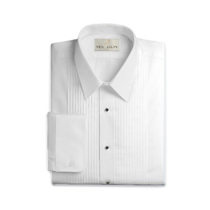Laydown Collar Covertible Cuff Dress Shirt | The Scottish Company | Toronto