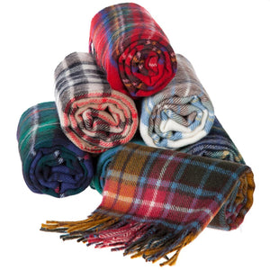 Tartan Lambswool Scarves | The Scottish Company