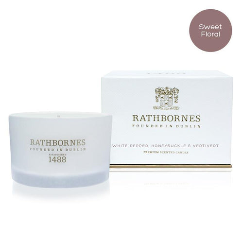 Rathbornes | White Pepper Travel Candle
