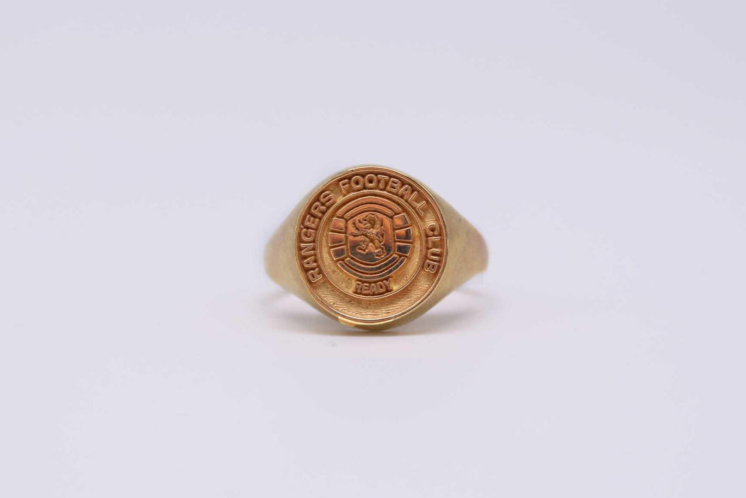 Rangers Football Club Ring | The Scottish Company | Toronto
