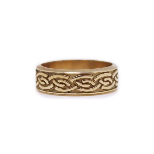 Ring | Women's Celtic Weave Wedding Band