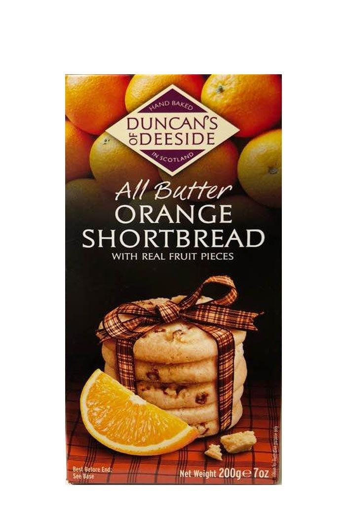 Duncan's of Deeside | All Butter Orange Shortbread 200g