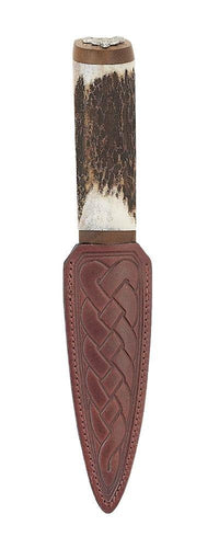 Daywear Sgian Dubh | Staghorn Hilt with Stag top