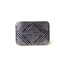 Kilt Belt Buckles really finish off your highland dress outfit and and a real air of authenticity.  Made from Matte Pewter with a Celtic scroll design it will look perfect with your kilt.  Available online and in-store from The Scottish Company, Toronto,