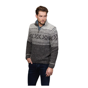 ZIp Neck Wool Sweater | The Scottish Company | Toronto | Canada