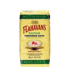 Flahavan's Irish Porridge Oats | The Scottish Company | Toronto