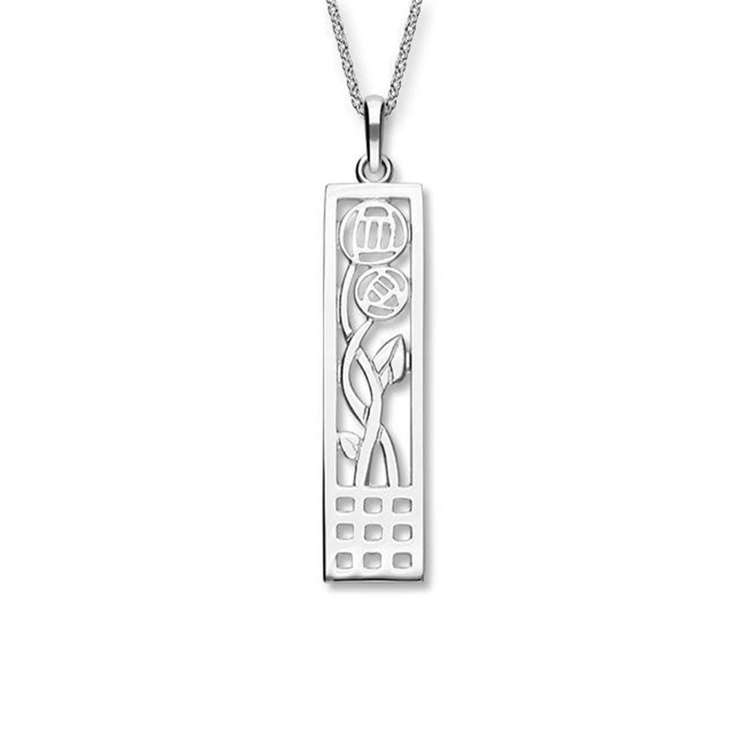 Ortak Sterling Silver Charles Rennie Mackintosh Pendant | The Scottish Company | Toronto