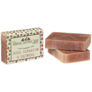Donegal Soap Co. | Rose Geranium & Oatmeal Bar Soap