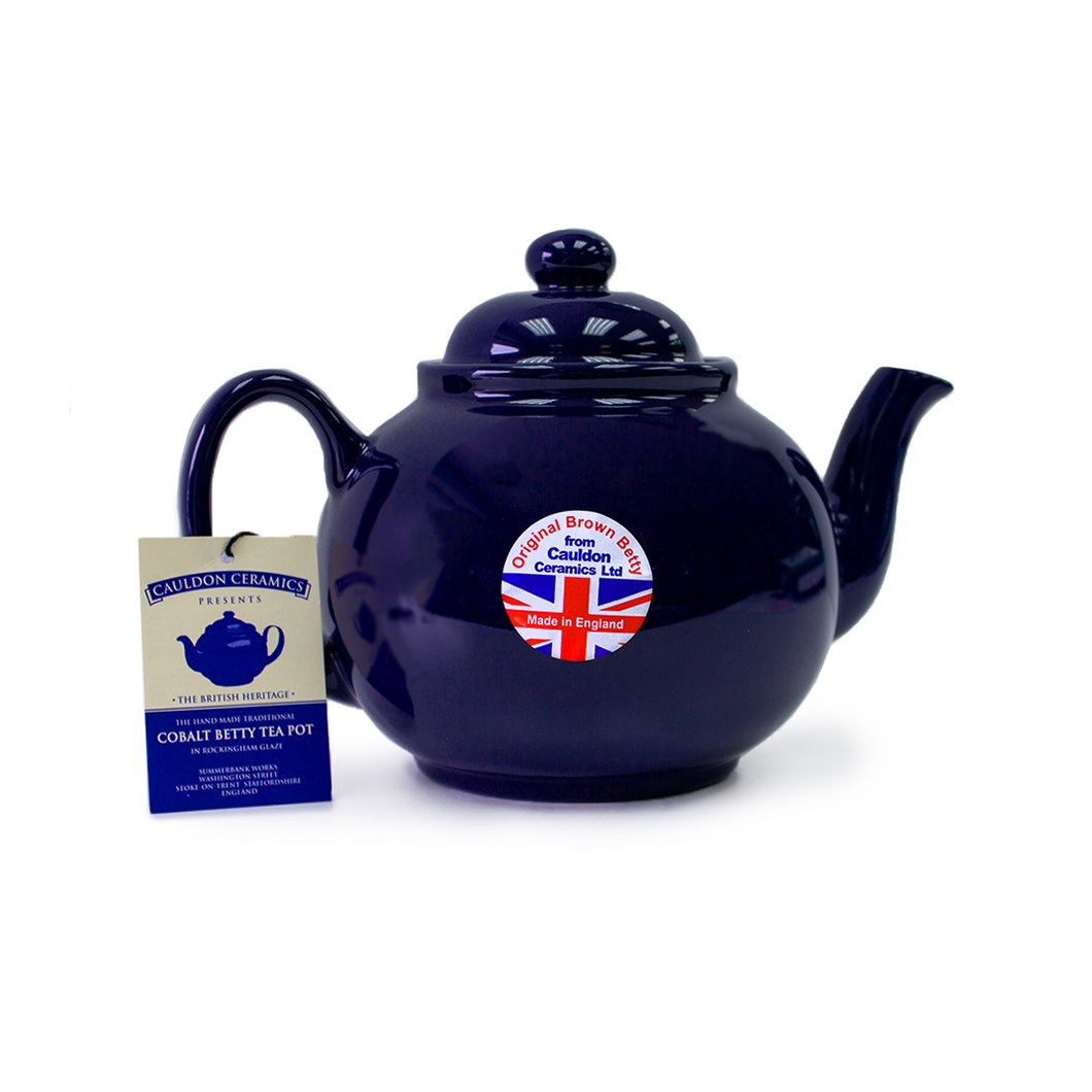 4 Cup Cobalt Betty Teapot | The Scottish Company | Toronto