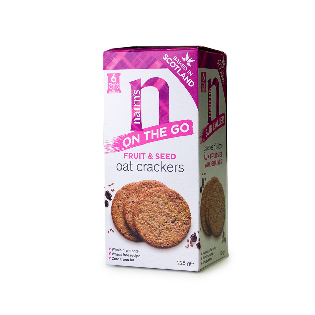 Nairn's Fruit & Seed Oat Crackers | The Scottish Company | Toronto
