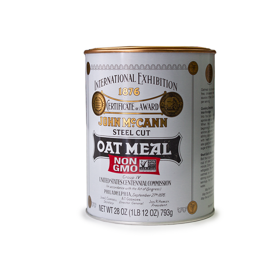 McCann's Steel Cut Irish Oatmeal | The Scottish Company | Toronto