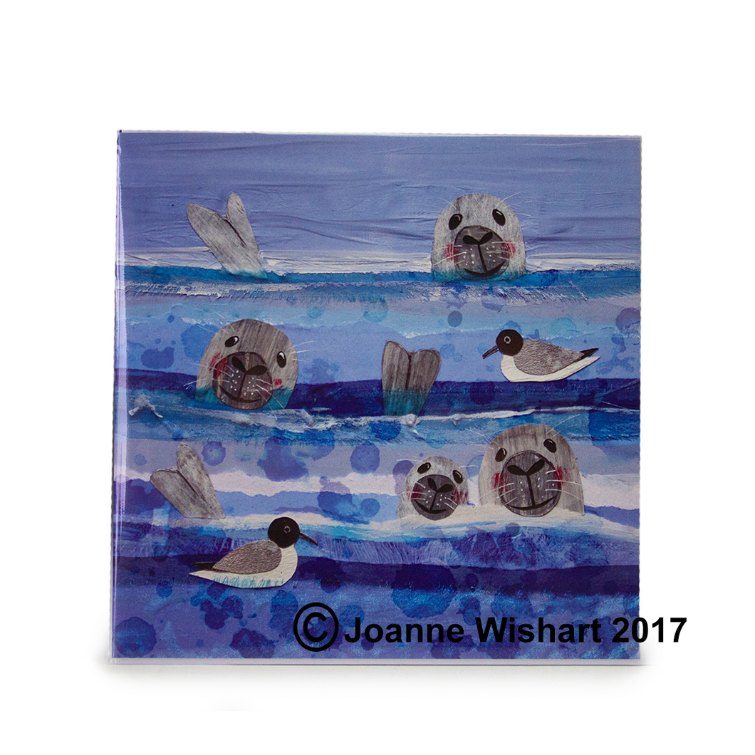 Joanne Wishart 'Bobbing Seals' Greeting Card | The Scottish Company | Toronto