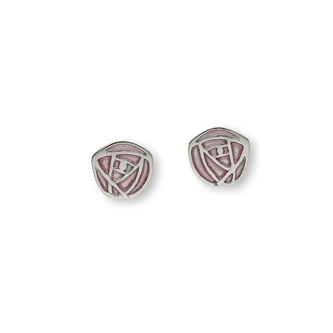 Ortak Sterling Silver 'Glasgow Rose' Earrings | The Scottish Company | Toronto