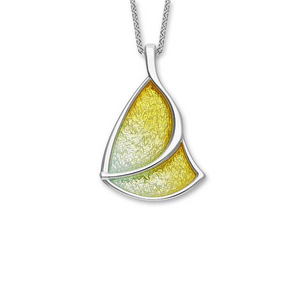 Ortak Haven silver & enamel pendant | The Scottish Company