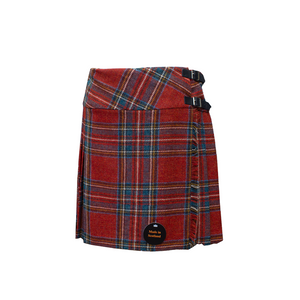 Shetland Wool Kilt - Royal Stewart Tartan | The Scottish Company | Toronto