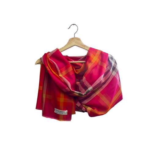 Lochcarron Spring Scarves Elie Blossom | The Scottish Company | Toronto