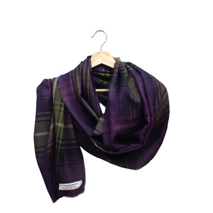 Lochcarron Spring Scarf Heather | The Scottish Company | Toronto