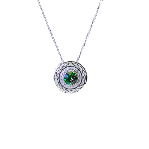 Shanore Sterling Silver and Swarovski Celtic Pendant | The Scottish Company | Toronto