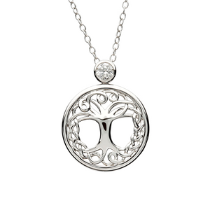 Shanore Tree of Life Silver Pendant | The Scottish Company