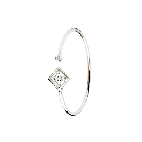 Shanore Celtic Sterling Silver Bangle | The Scottish Company | Toronto