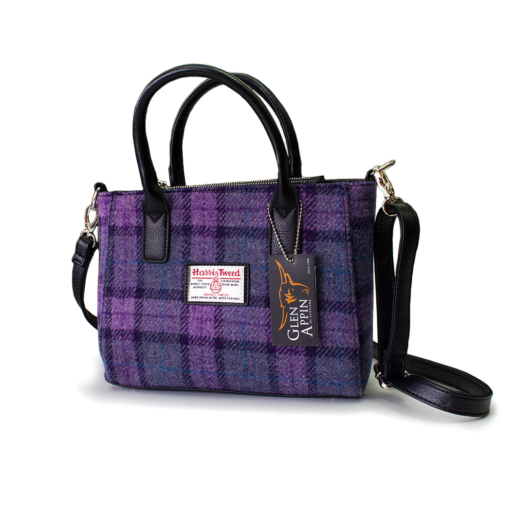 Harris Tweed Brora Small Tote | The Scottish Company | Toronto
