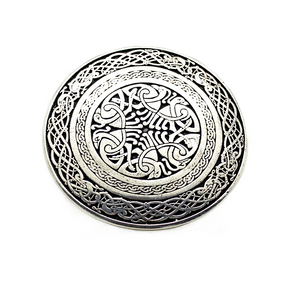 Belt Buckle | Intricate Celtic Bird Buckle