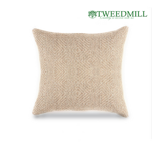 Tweedmill Textiles | Outdoor Square Pouf Cushion | The Scottish Company | Toronto