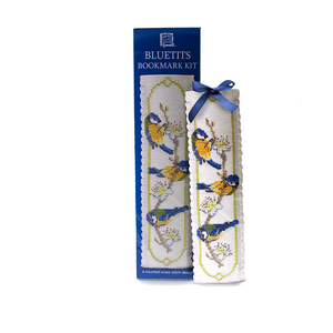 Art Pewter Cross Stitch Bluetit Bookmark Kit | The Scottish Company | Toronto Canada