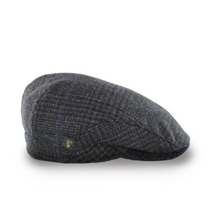 Mucros Weavers Mens Tweed Hat Blue | The Scottish Company | Toronto