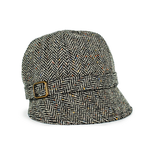 Mucros Weavers | Flapper Hat Grey Tweed