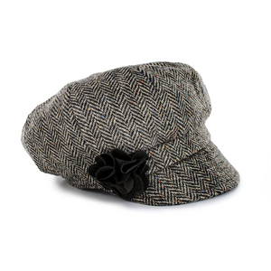 Mucros Newsboy Cap Grey Tweed | The Scottish Company | Toronto
