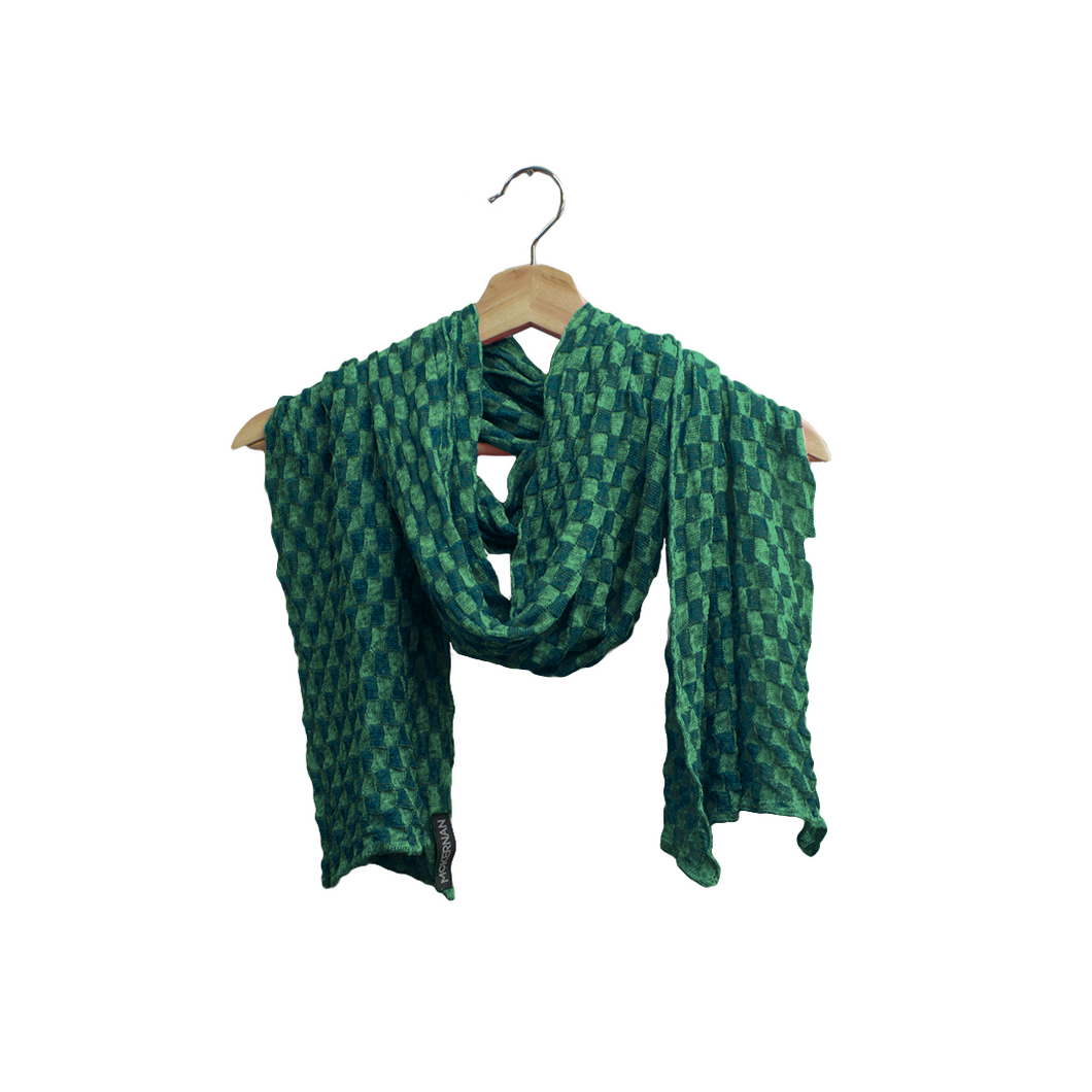 McKernan Green Linen Scarf | The Scottish Company | Toronto