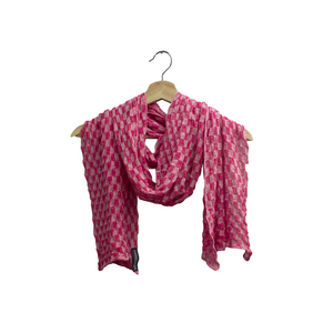 McKernan Pink Linen Scarf | The Scottish Company | Toronto