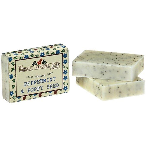 Donegal Soaps Peppermint & Poppy SeedSoap | The Scottish Company | Toronto