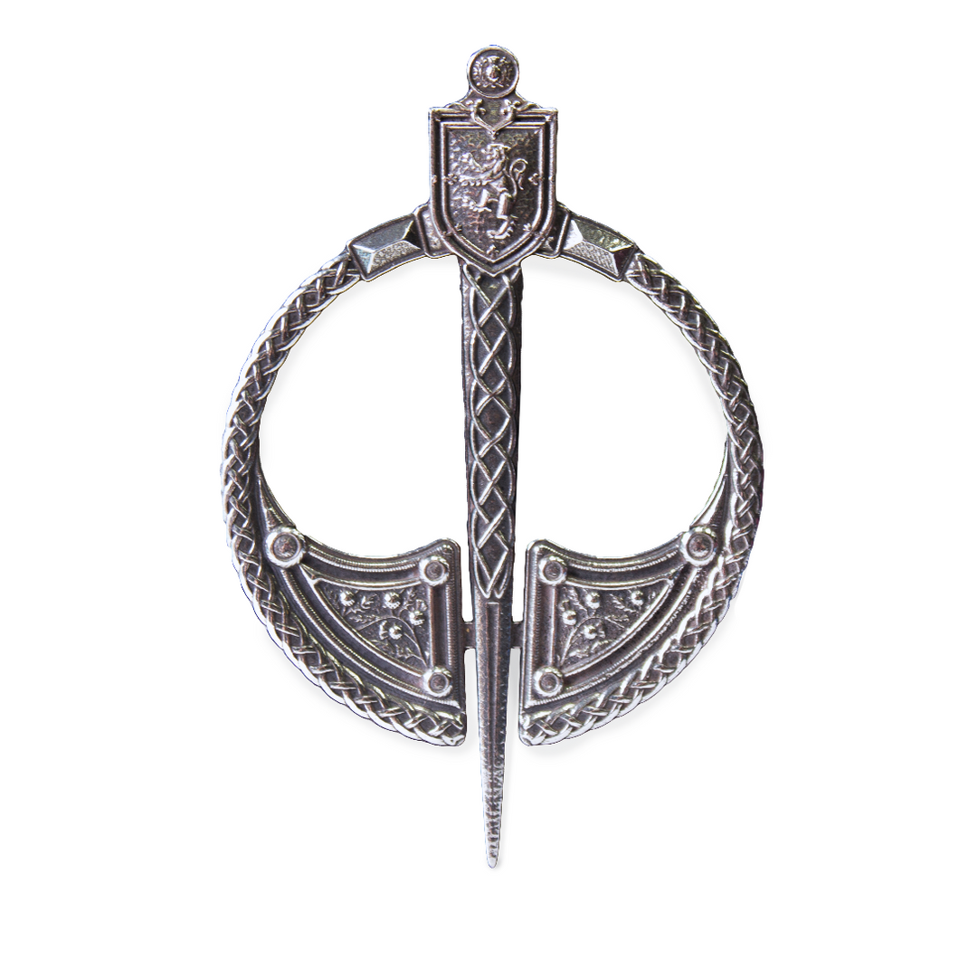 Penanular Plaid Brooch Lion Rampant | The Scottish Company | Toronto