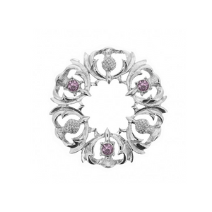 Machair Brooch with Amethysts | The Scottish Company | Toronto