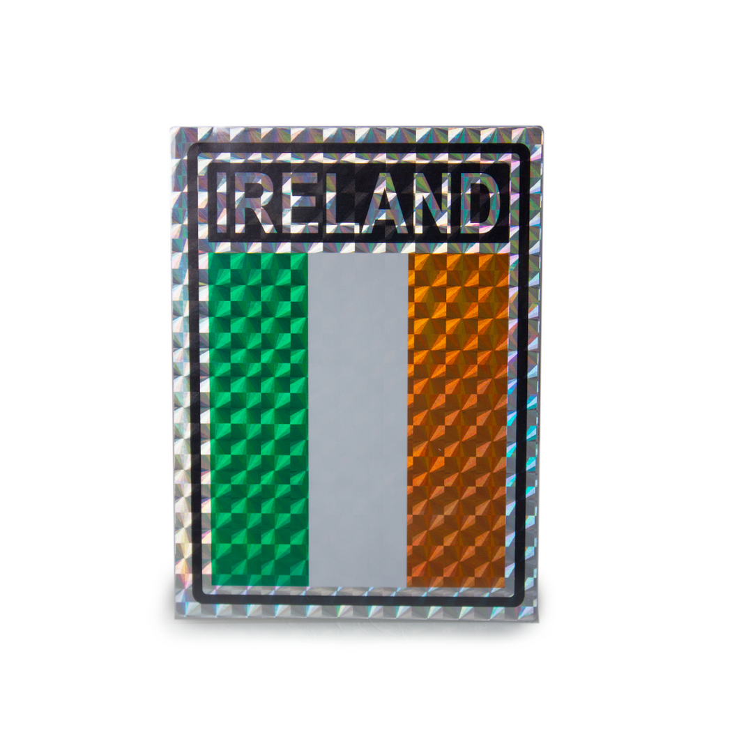 Ireland Reflective Bumper Sticker | The Scottish Company | Toronto