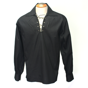 Ghillie Shirt - Black | The Scottish Company