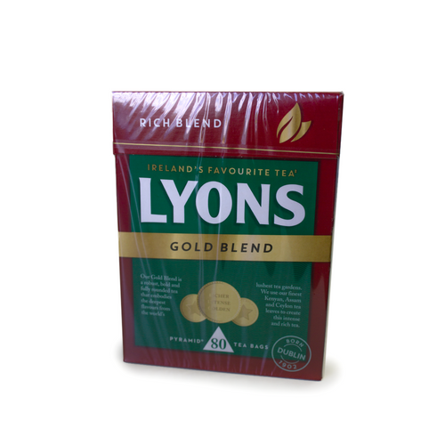 Lyons Gold Blend Tea Bags | The Scottish Company