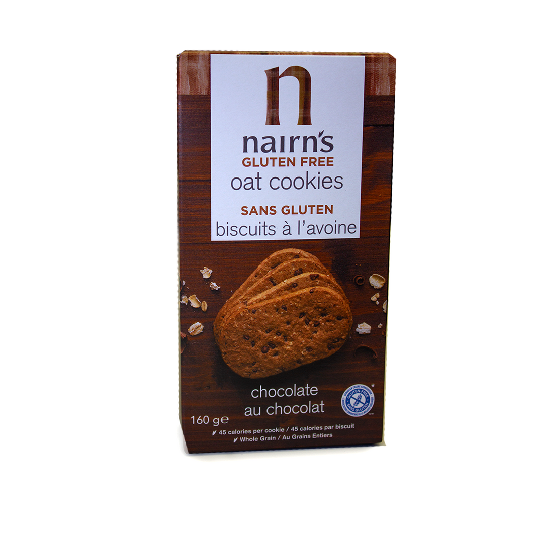 Nairns Gluten Free Oat Cookies Chocolate Flavour | The Scottish Company | Toronto