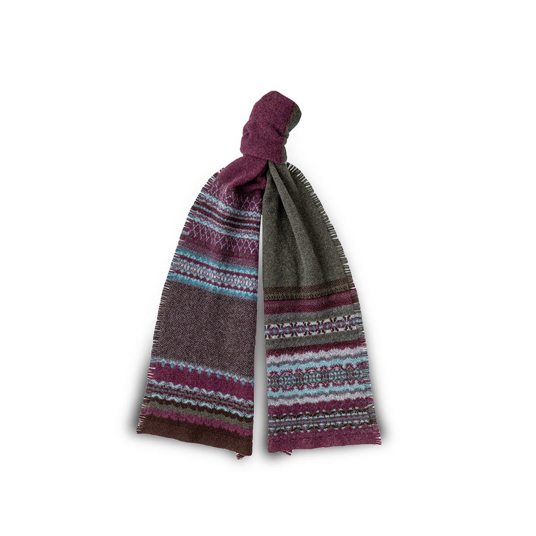 Eribe Fairisle Scarf | The Scottish Company | Toronto