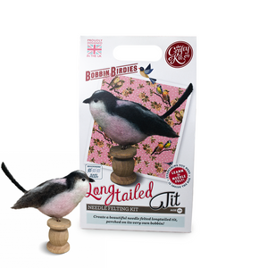 Needle Felting Kit-Long Tailed Tit | The Scottish Company | Toronto