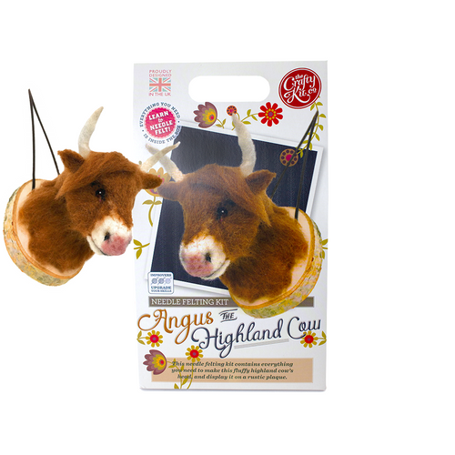 Needle Felting Kit-Highland Cow | The Scottish Company | Toronto